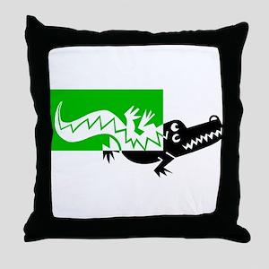 ALLIGATOR [6] Throw Pillow